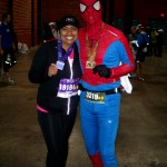 Shontaye and Spider Man