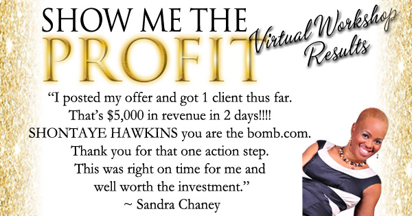 Sandra M Virtual Workshop