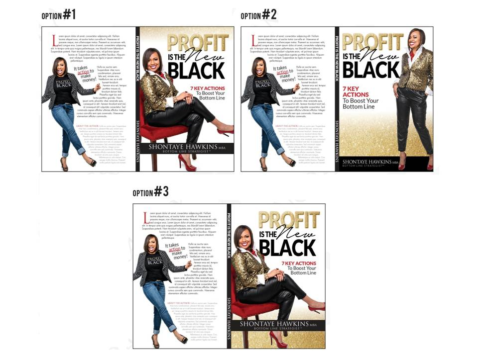 Cover Design Options - Profit Is The New Black