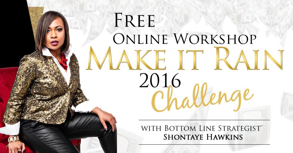 Make It Rain Challenge 2016