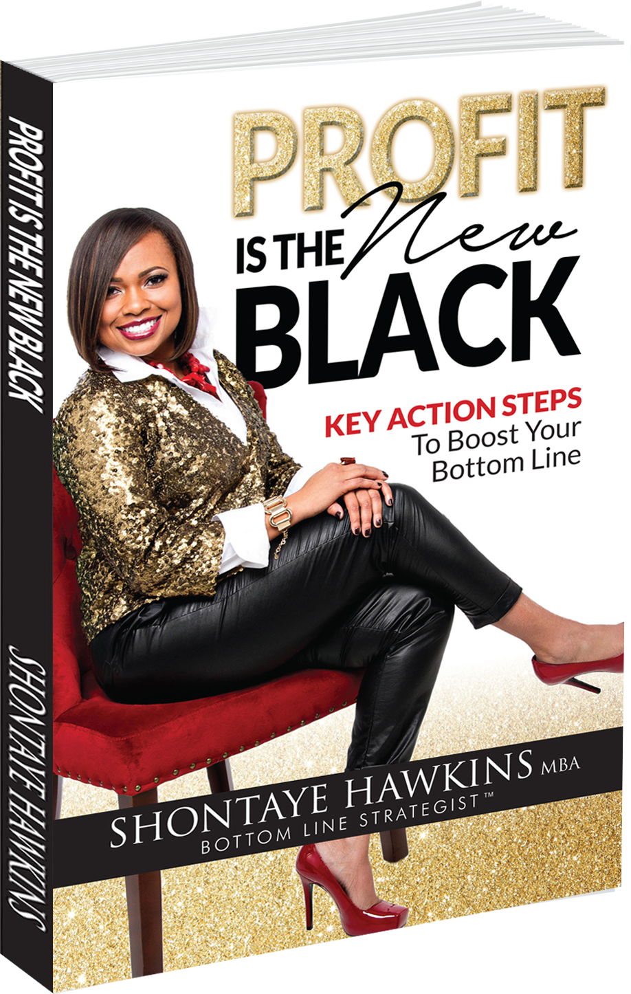 Profit Is The New Black Book Cover - Shontaye Hawkins