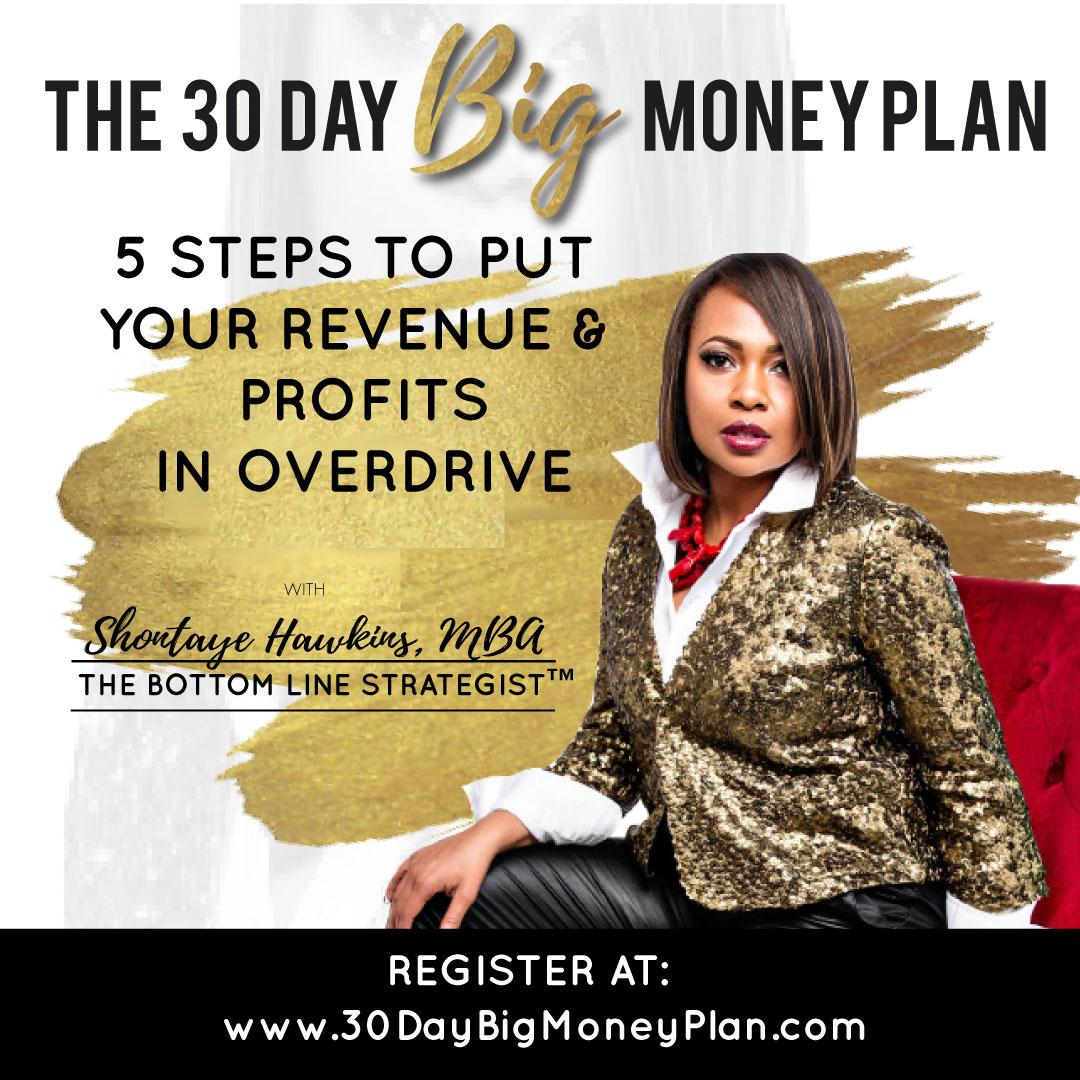 30 Day Money Plan