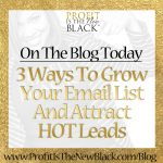 3 Ways To Grow Your Email List and Attract Hot Leads