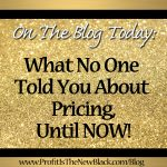 What No One Told You About Pricing, Until Now