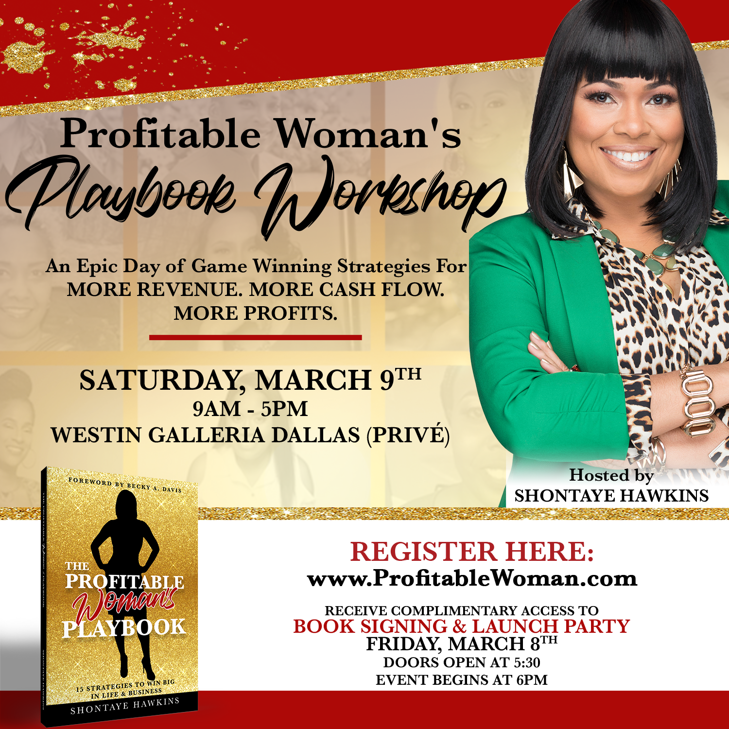 The Profitable Woman's Playbook Workshop